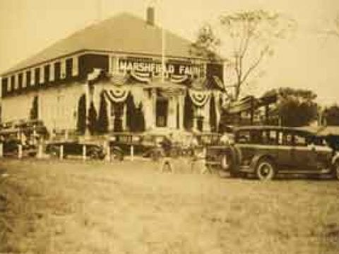Old Picture of Marshfield Fair Building | Marshfield Fair History