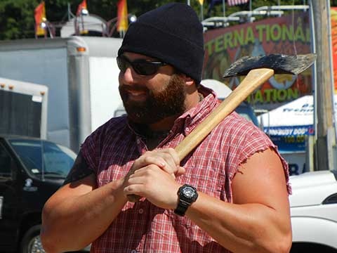 Lumberjack Show | Daily Entertainment