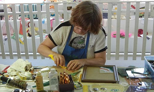 Crafter Working | Annual Marshfield Fair - Get Involved