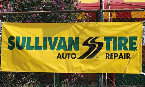 Sullivan Tire Banner | Be a Fair Sponsor